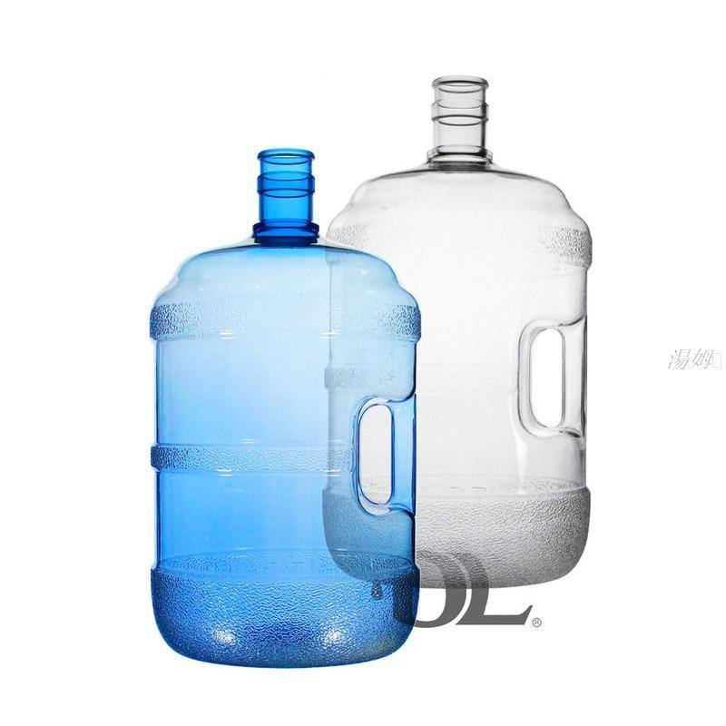 湯姆💞【現貨】蒸餾水桶5加侖 20公升- 把手~食品級原料~桶裝水~藍色/透明水桶
