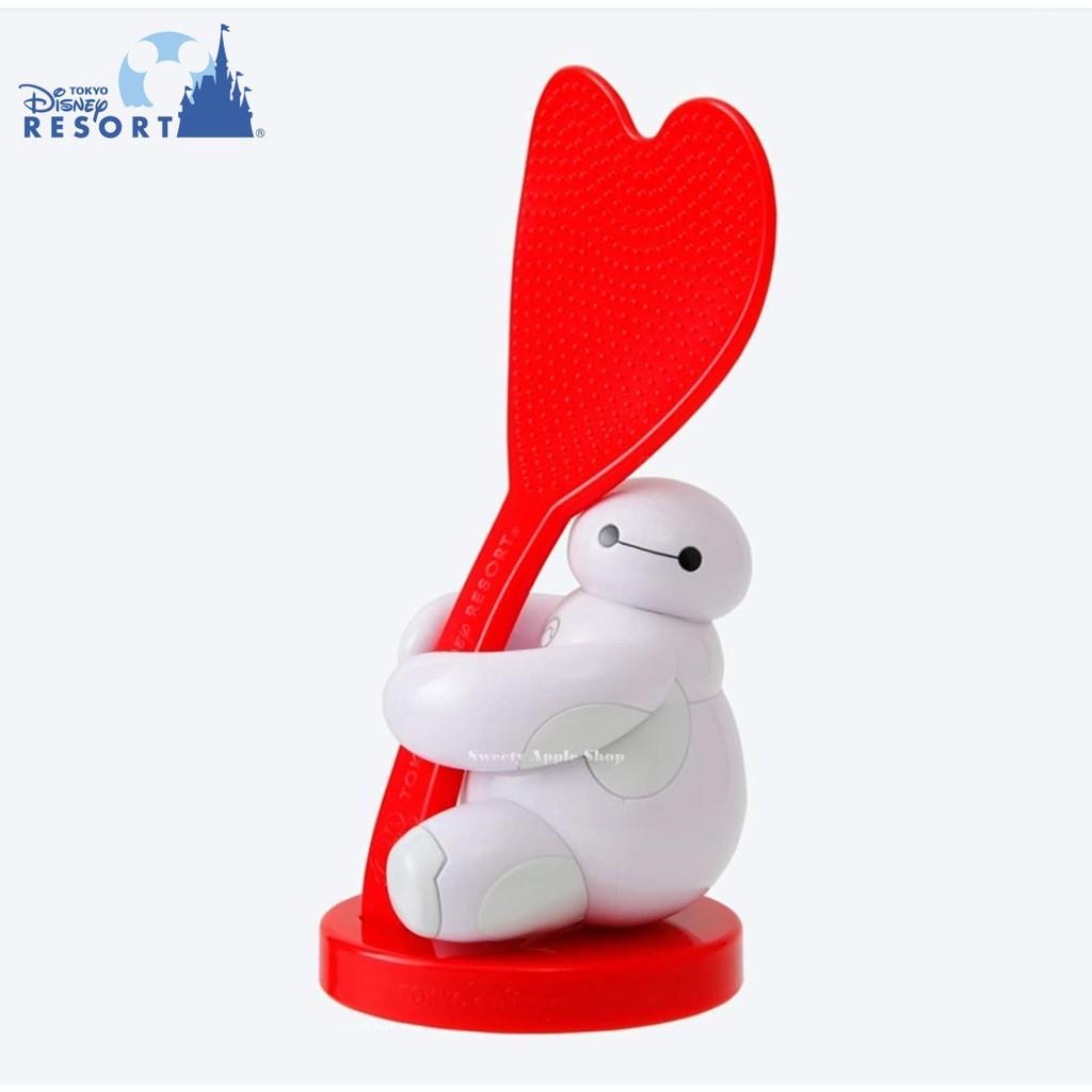 東京迪士尼【 TW SAS日本限定 】(樂園實拍圖) 東京迪士尼樂園限定 大英雄天團 杯麵 公仔造型版 飯匙&座套組