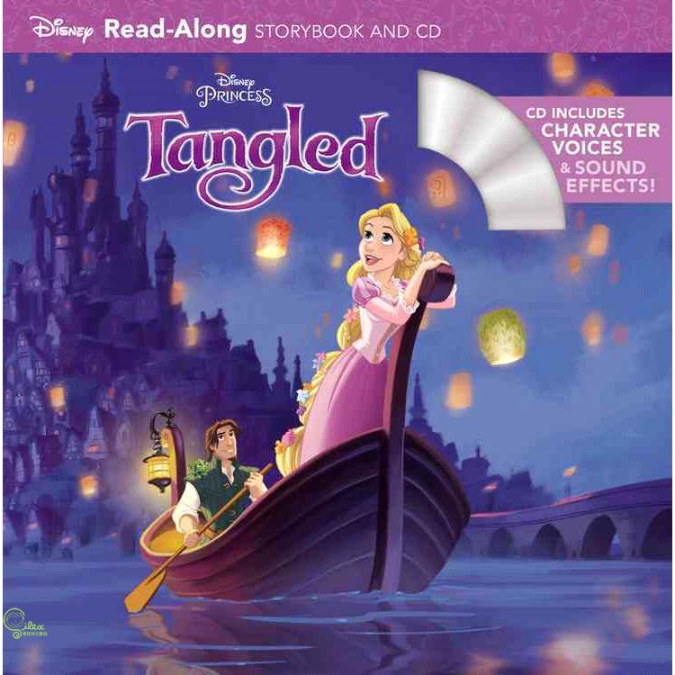 Tangled (1平裝+1CD)【禮筑外文書店】(有聲書)[8折]