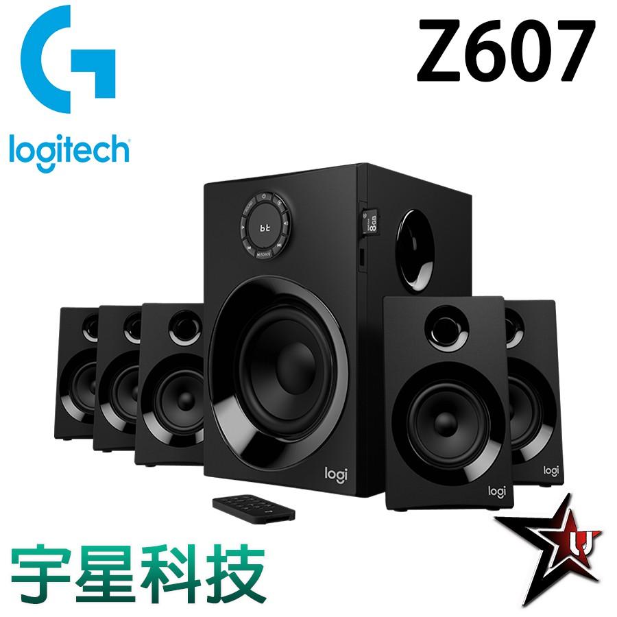 Logitech 羅技 Z607 5.1 聲道藍牙音箱 宇星科技