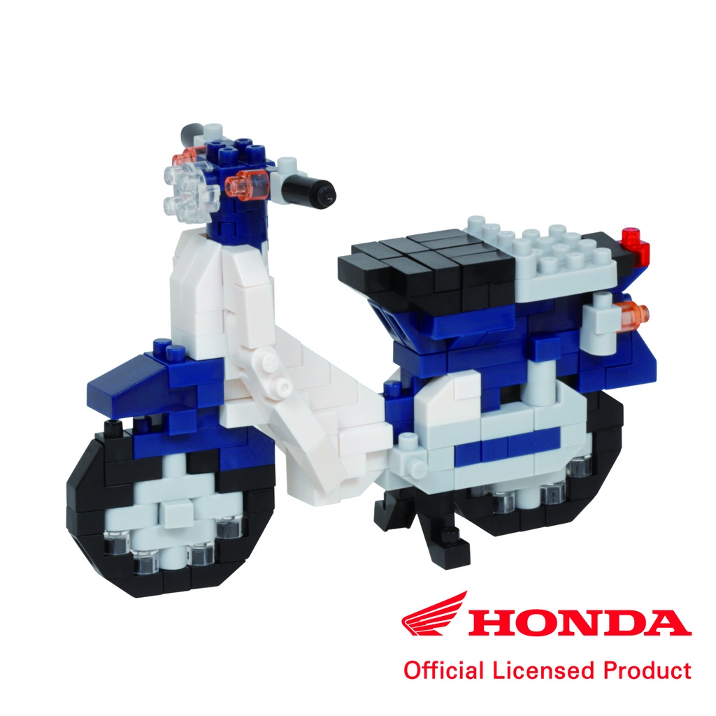 Nanoblock Honda Super Cub 50紀念款積木 (現貨)