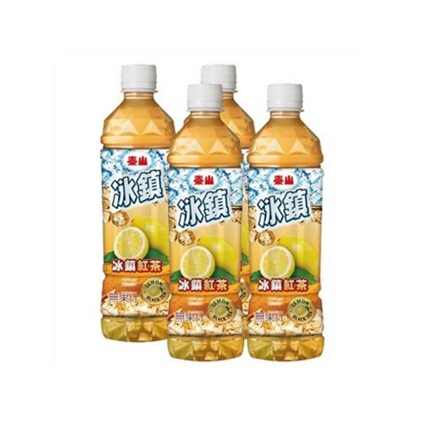 泰山冰鎮檸檬紅茶535mlx4瓶/組  【大潤發】