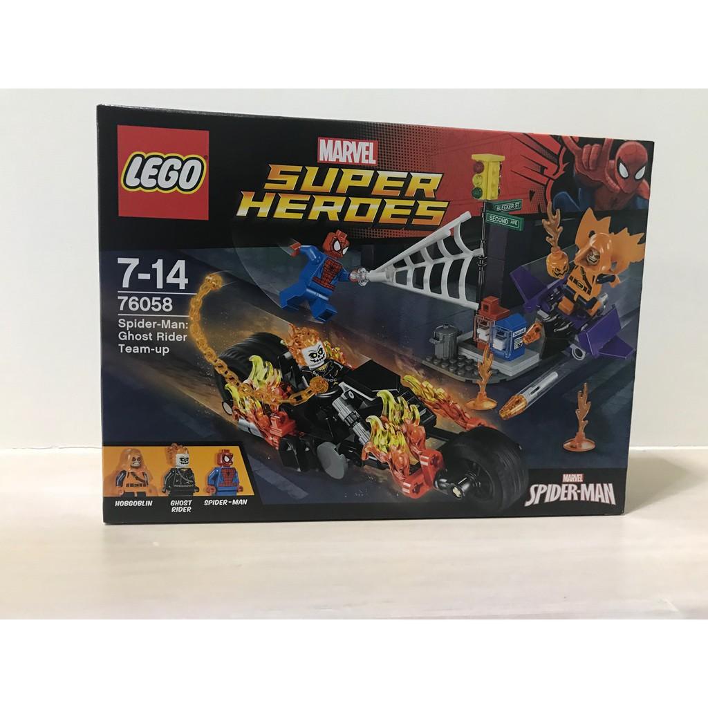樂高 正版盒組  超級英雄 蜘蛛人 全新未拆 76058