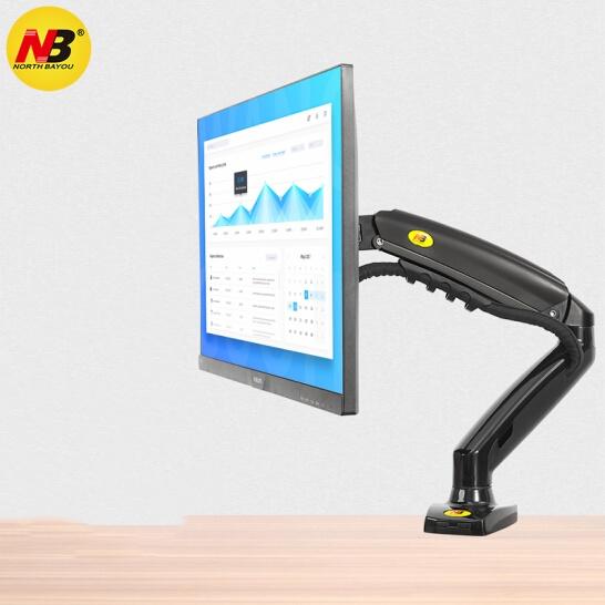 NB F80 顯示器支架 電腦支架 桌面升降顯示器支架臂 旋轉電腦架 顯示器底座增高架螢幕支架17-30英寸