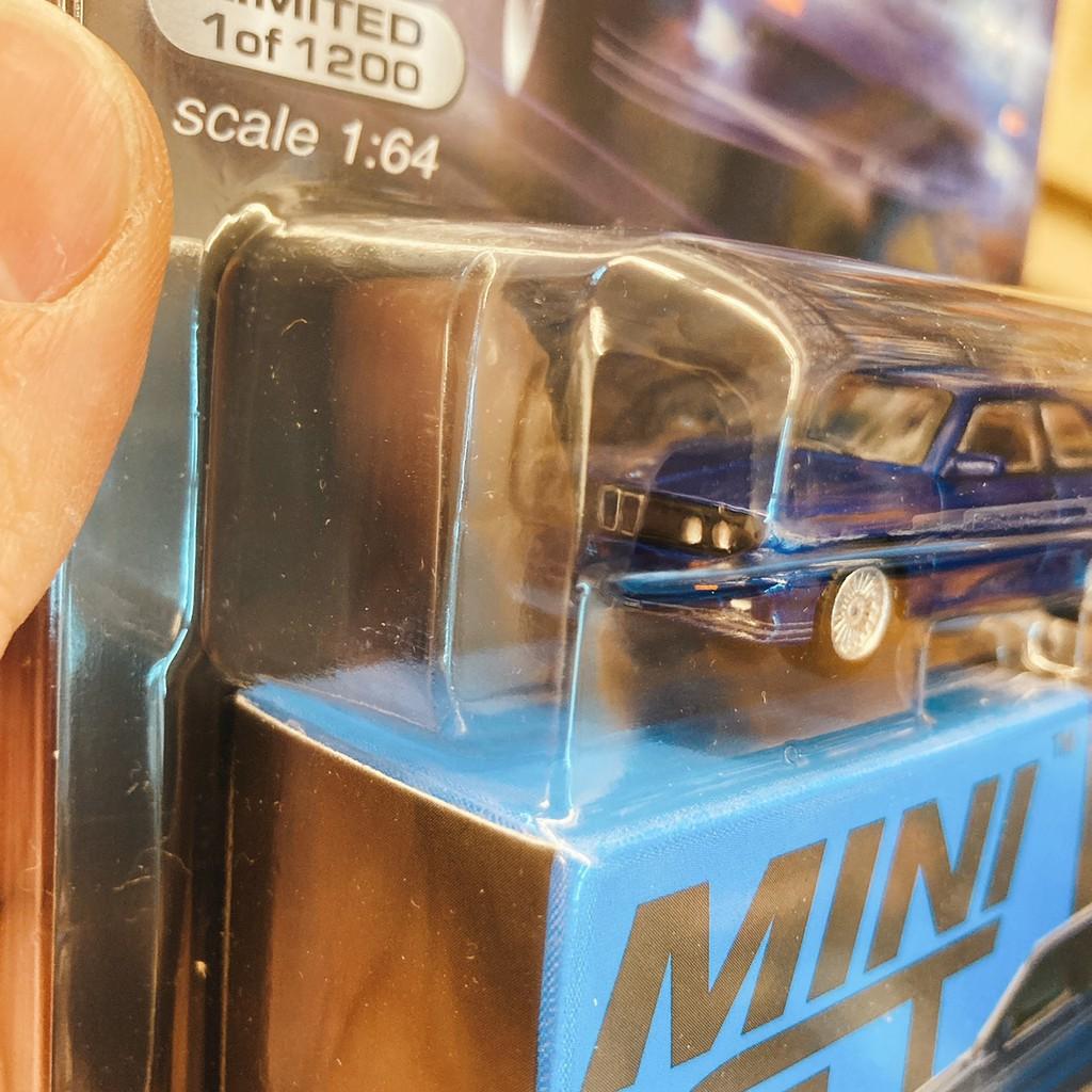 小比例模型車 1/64 MINI GT Alpina版 E30 M3 BMW #120