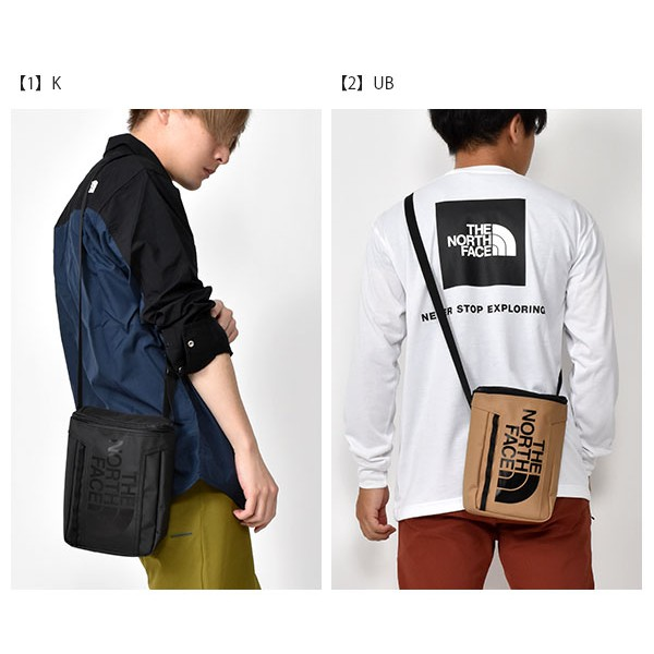 The North Face BC FUSE BOX POUCH 3公升 斜背包-黑色