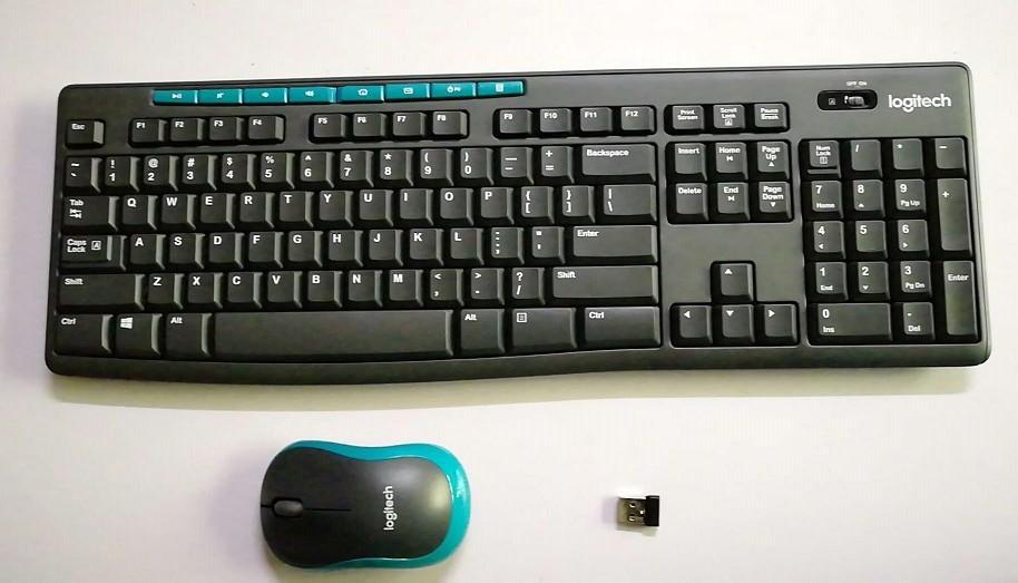 羅技MK275無線鍵盤滑鼠套裝K275無線鍵盤+M185無線滑鼠+接收器