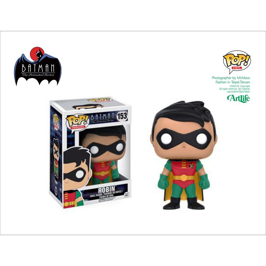 Artlife ㊁ FUNKO POP DC Animated ROBIN BATMAN 動畫系列 蝙蝠俠 羅賓