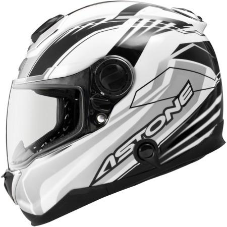 鼎泰安全帽 ASTONE GT1000F AC6白銀 全罩 碳纖維 安全帽 內置墨片 (送防摔手套)