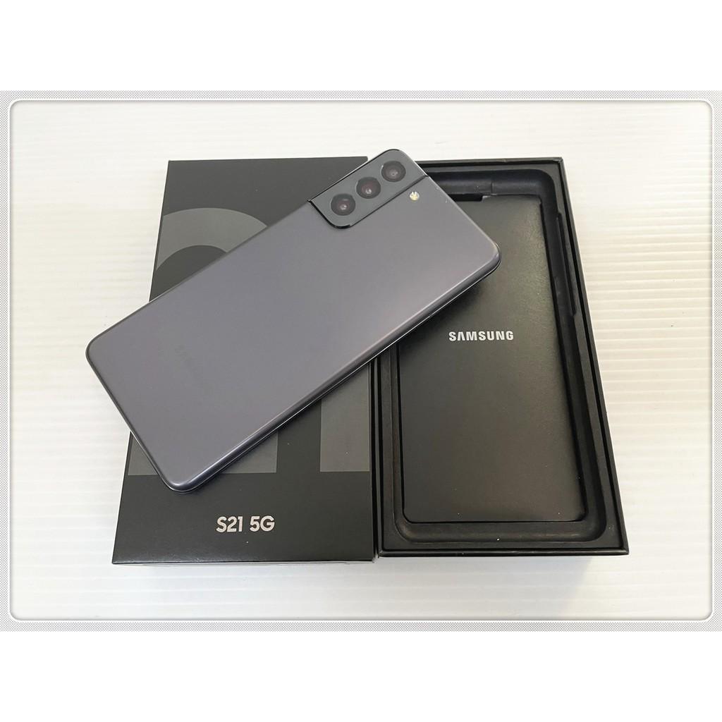 公司貨 SAMSUNG Galaxy S21 黑色 128G 二手