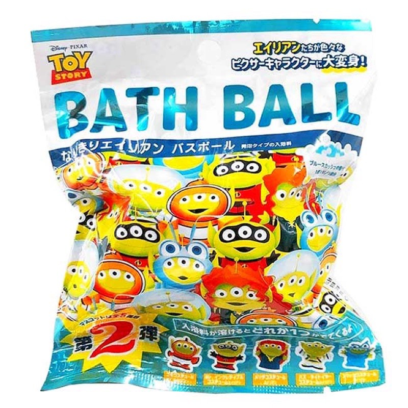 日本皮克斯Pixar三眼怪泡澡球