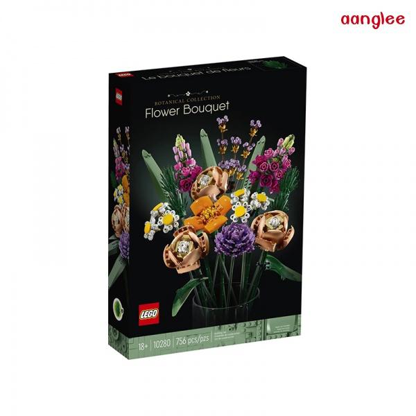 新款LEGO樂高創意百變10280花朵10281盆景盆栽樹益智拼裝積木玩具禮物