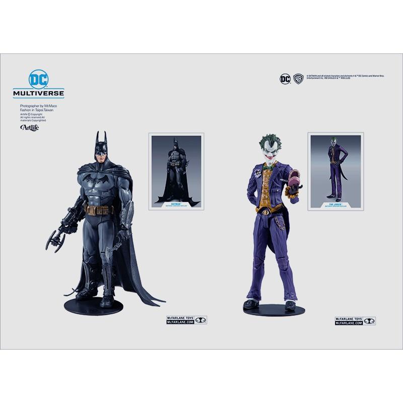 ArtLife @ McFarlane DC MULTIVERSE BATMAN JOKER 麥法蘭 阿卡漢 蝙蝠俠小丑