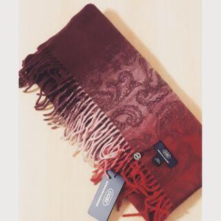 GOBI 100%喀什米爾羊毛披肩 寬版圍巾 基隆市