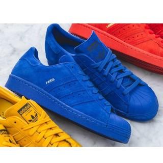 Adidas Originals Superstar City 80s巴黎Paris城市限定 寶藍色 現貨US8.5 臺中市
