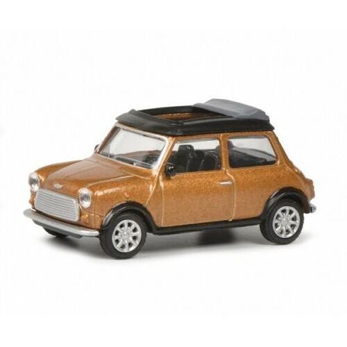 【名車館】Schuco Mini Cooper Braun Metallic 1/64
