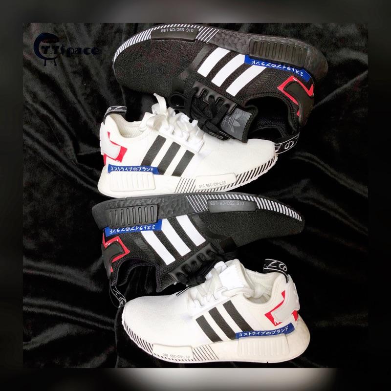 CTT $pace🔹 Adidas NMD 日文off white 黑白EF1734 EF2311 海外限定🔹