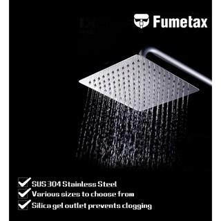 超薄不銹鋼浴室顶喷(6吋 8吋 )手持方形節水頂噴蓮蓬頭 超大面板淋浴花灑