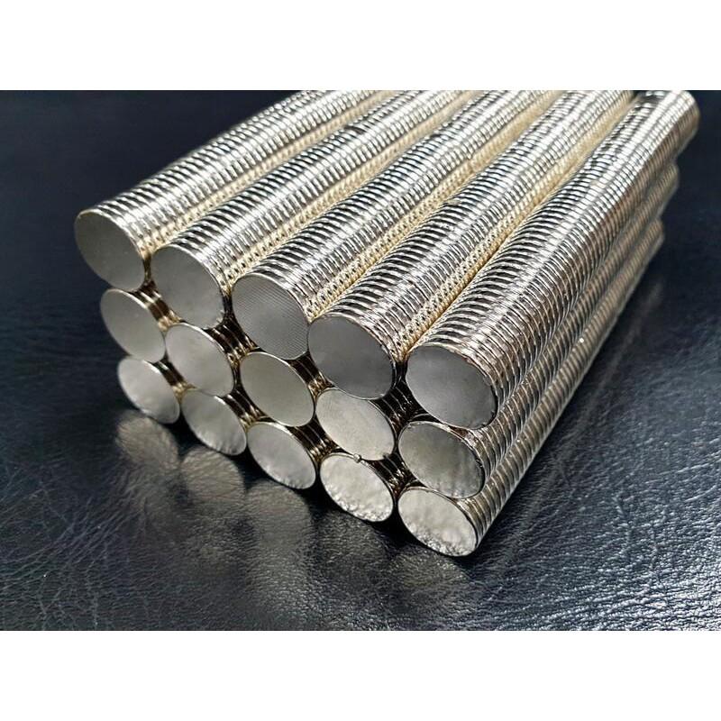 **GT模型**銣鐵硼超強吸力磁鐵, 強力磁鐵, 圓形,直徑 15mm x 厚度 2mm, 可適用隱形車殼柱