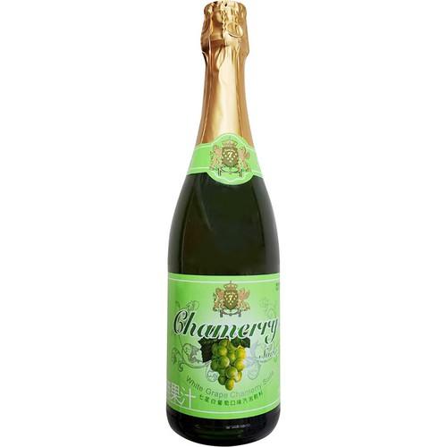 七星 白葡萄口味汽泡飲料-玻璃瓶(750ml/瓶)[大買家]