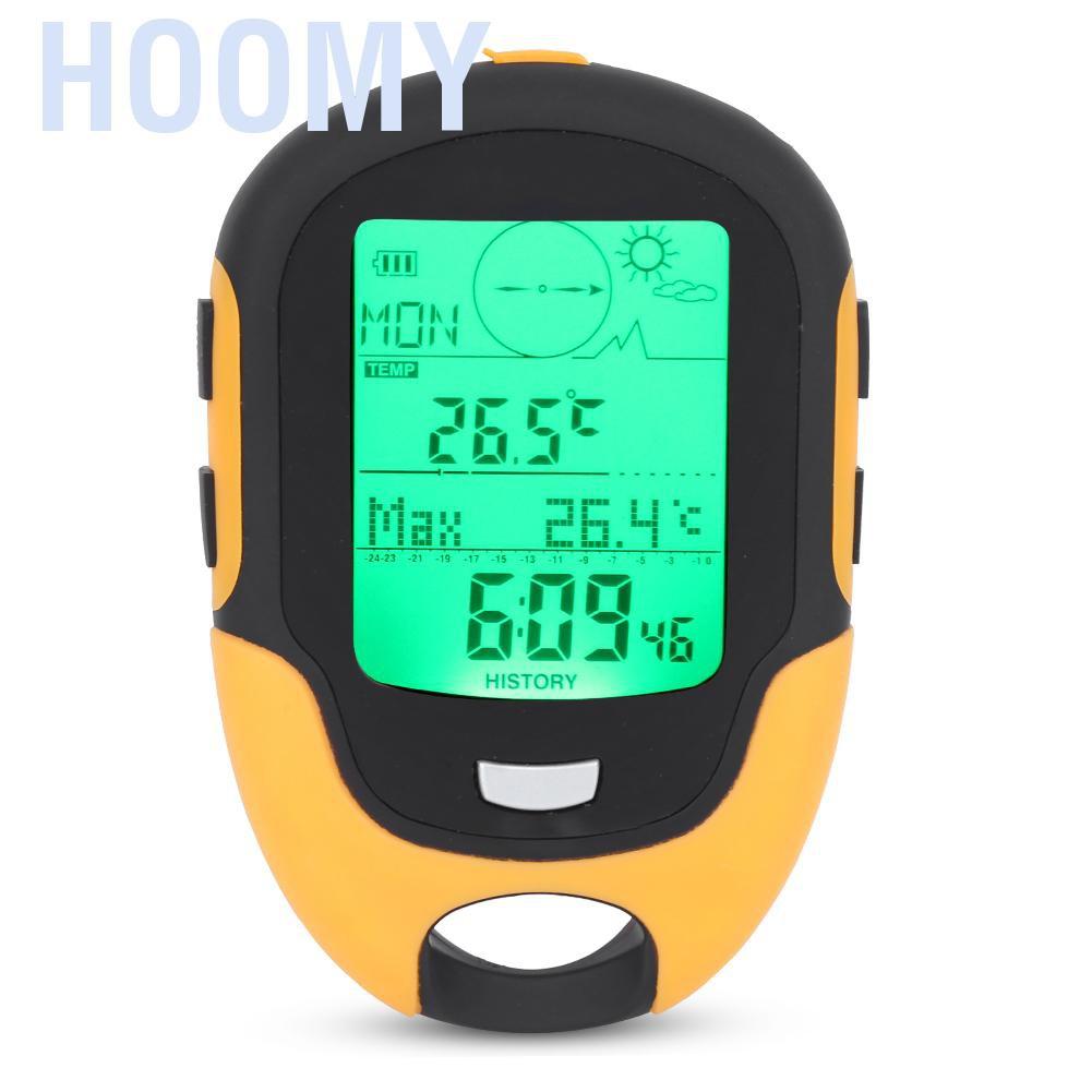 Hoomy FR500戶外多功能汽車高度計氣壓計溫度計