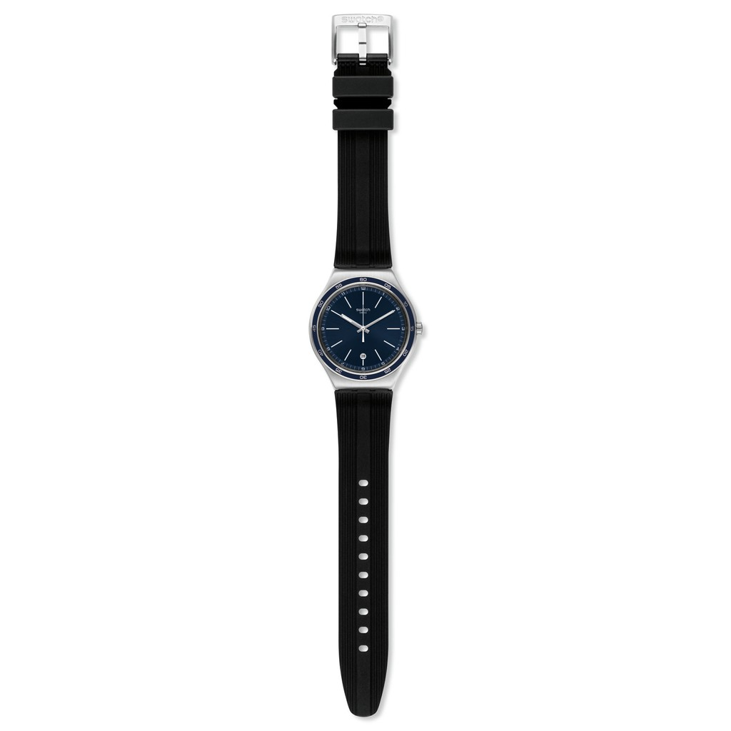 Swatch CAMARADE 日期 夜光 腕錶 手錶 黑 YWS428