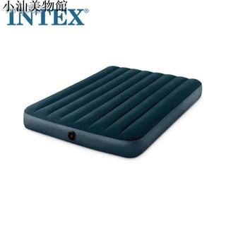 ✨高品質充氣睡墊✨  INTEX充氣床 雙人家用加高氣墊床充氣床單人充氣床墊戶外帳篷睡墊 自動充氣睡墊 防潮墊 汽車充...