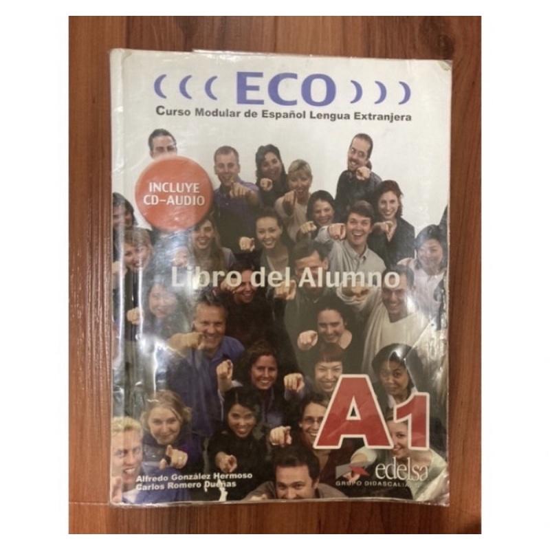 ECO A1 西班牙語書 二手