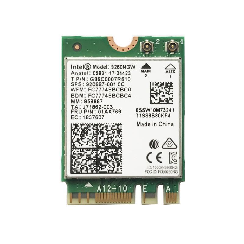 原裝Intel 9260NGW 9260AC 1730M無線網卡藍牙5.0 網卡