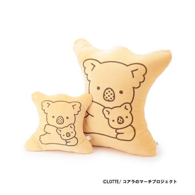(預購)日本樂天lotte 限定超Q小熊餅乾抱枕