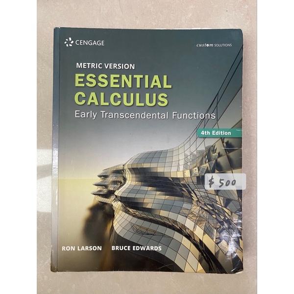 <二手> Essential Calculus 4/E Larson 9789579282079