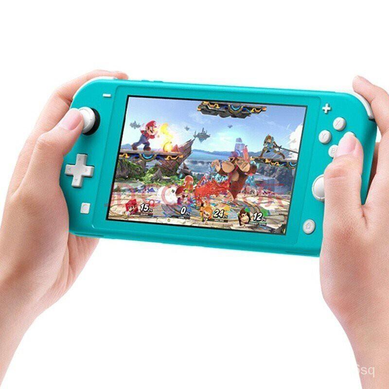 【二手95新】任天堂 二手 switch lite遊戲機 續航加強版NS主機 便攜版本可選遊戲掌機---鯊魚小店