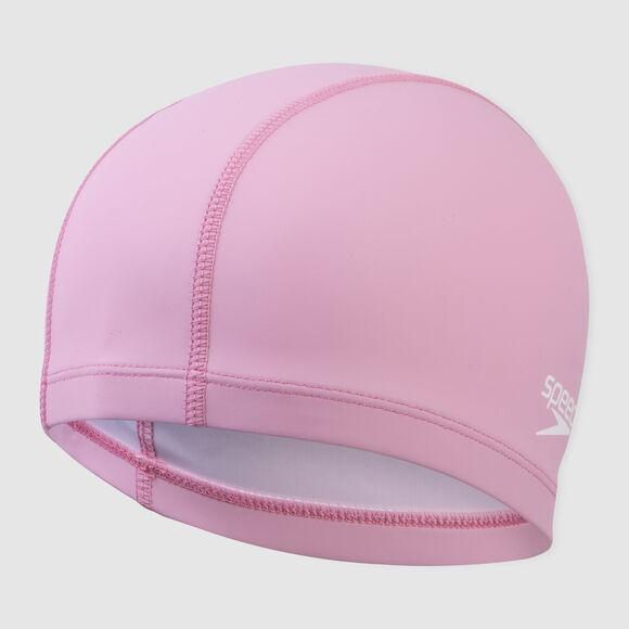 【線上體育】SPEEDO成人 合成泳帽 Ultra Pace 粉紅-SD8017311341