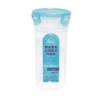 樂扣PP水杯690ML/ 無濾網/ 果凍藍  【大潤發】 新北市