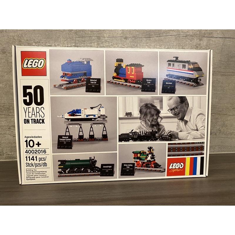 (全新現貨)Lego 4002016 樂高火車50週年紀念 員工限定聖誕禮