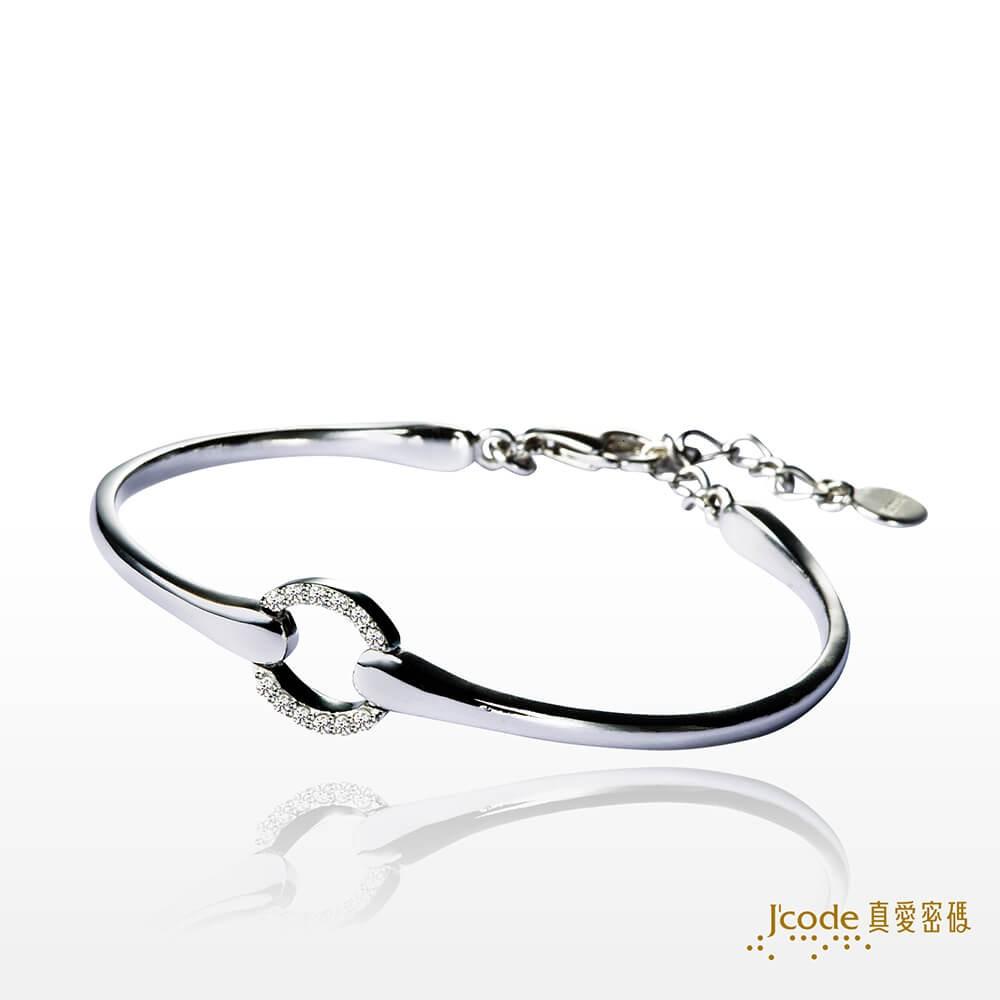 【J'code 真愛密碼】完美愛戀純銀手環