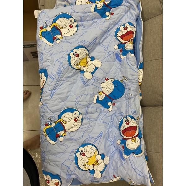 全新好市多100% 純棉卡通 哆啦A夢 兒童睡袋 150 X 120公分 - 史努比
