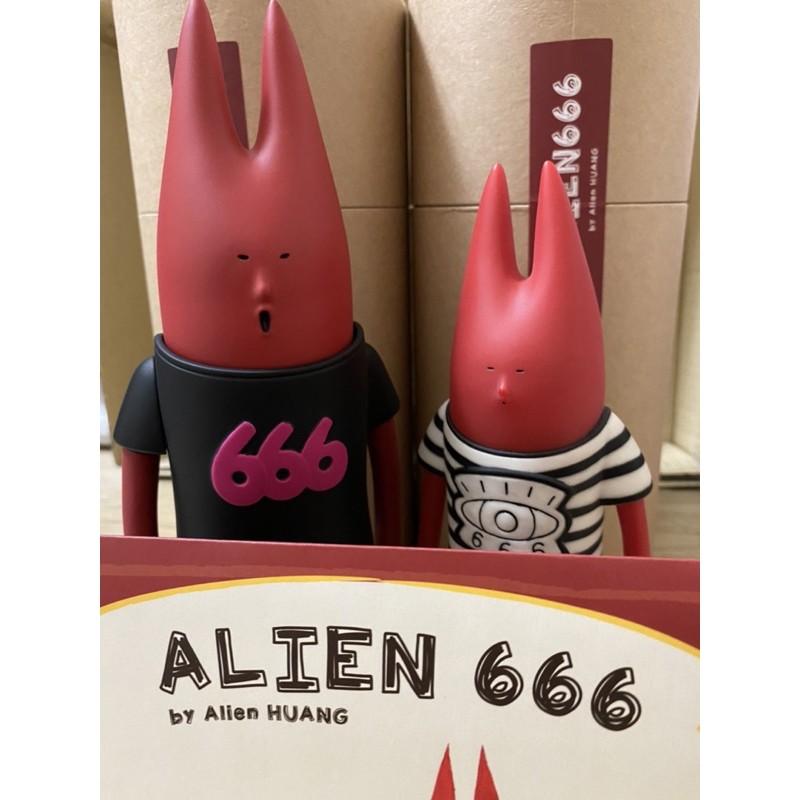 alien666 alien 666 bravo版 黃鴻升 小鬼 公仔 現貨