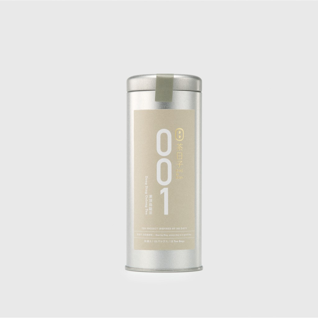 【茶日子】Dae 001 凍頂烏龍茶 單罐