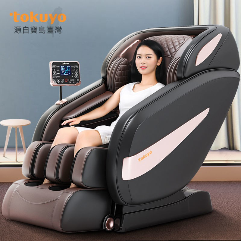 【芊芊生活館】督洋AI智慧按摩椅家用全身全自動太空艙老人豪華按摩椅TC7505
