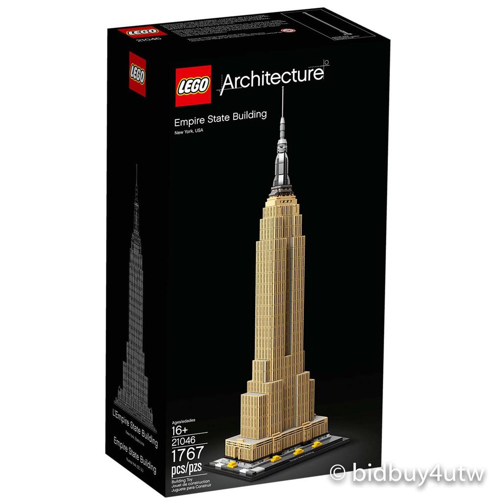 LEGO 21046 帝國大廈 建築系列 【必買站】樂高盒組
