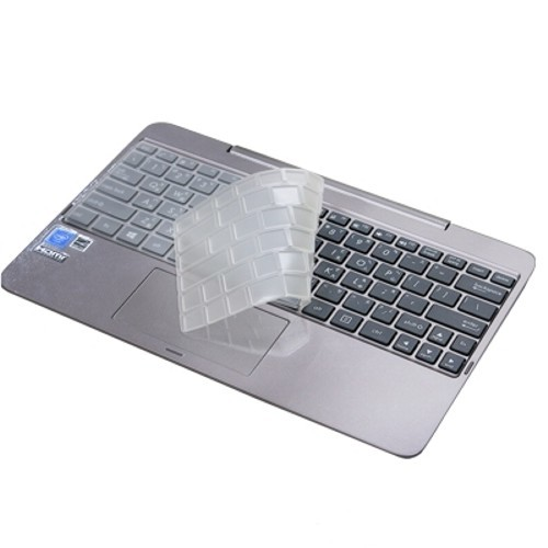 【Ezstick】ASUS T100H T100HA 專利透氣奈米銀抗菌 TPU 鍵盤膜 鍵盤保護膜