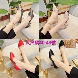 大尺碼 大尺寸 大碼 高跟鞋 女鞋 細跟40- 43號 26.5號 工作鞋 高跟鞋 女鞋 細跟 大碼 大尺碼 大尺寸 彰化縣