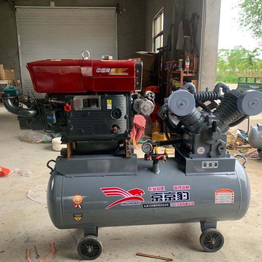 【精品現貨】流動補胎打氣泵高壓野外修車柴油空壓機氣修壓縮機充氣輪胎打黃油220V電壓
