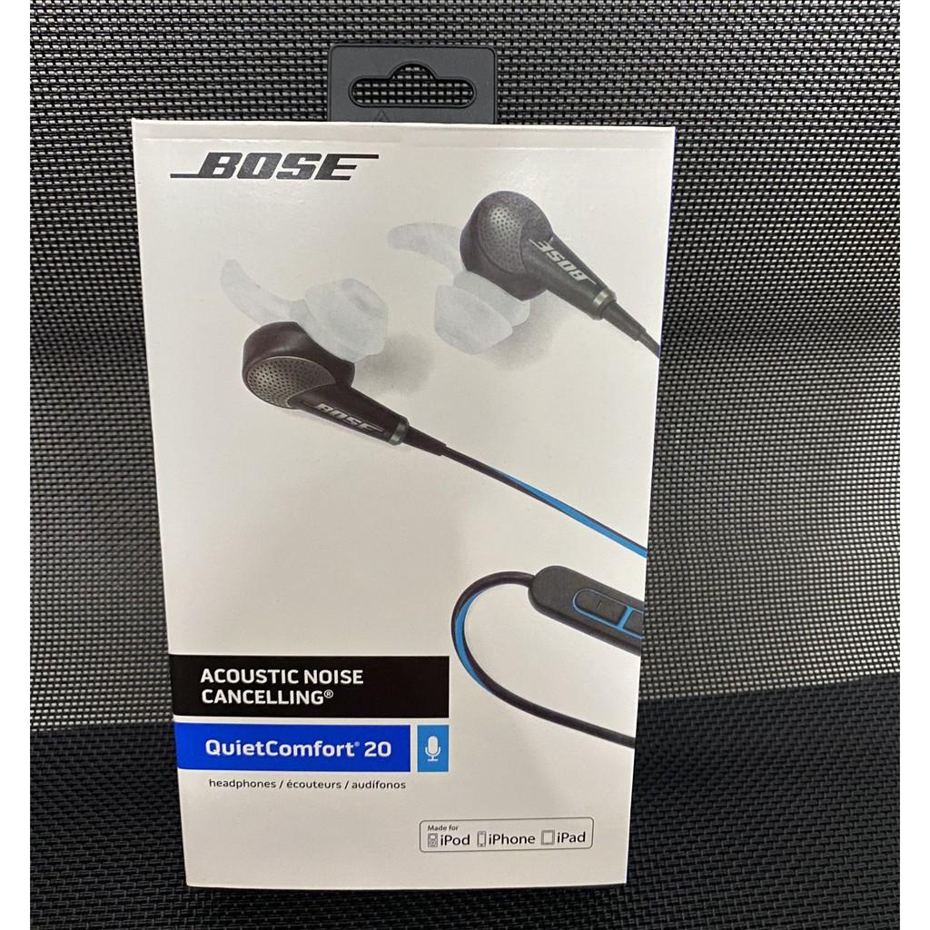 限時下殺 原廠Bose QC20降噪耳機qc20主動降噪入耳式耳機 音樂游戲耳機耳麥