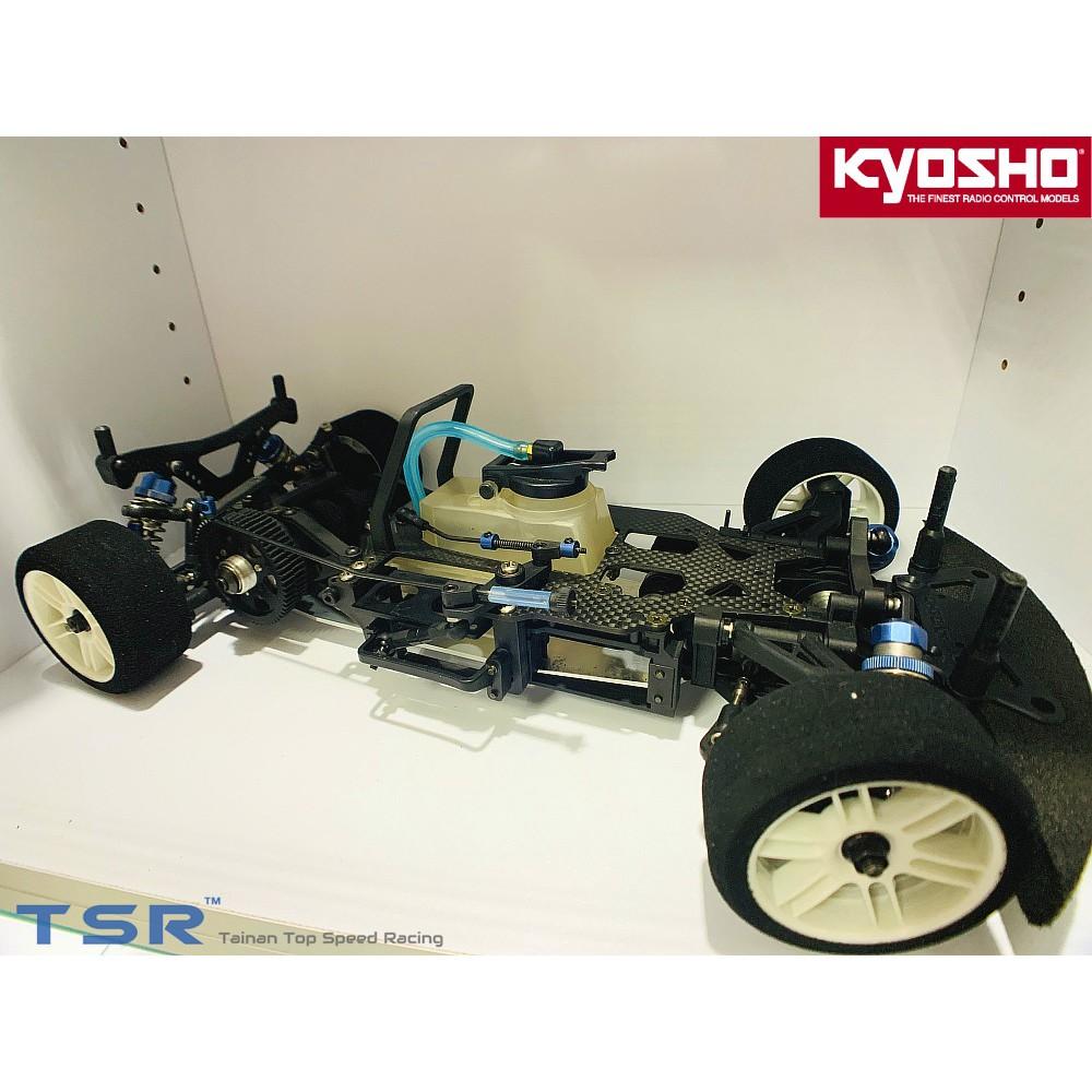 *TSR*極速模型 日本Kyosho 京商V-ONE RRR 1/10遙控油車 引擎房車 競速平跑車 evo空車架