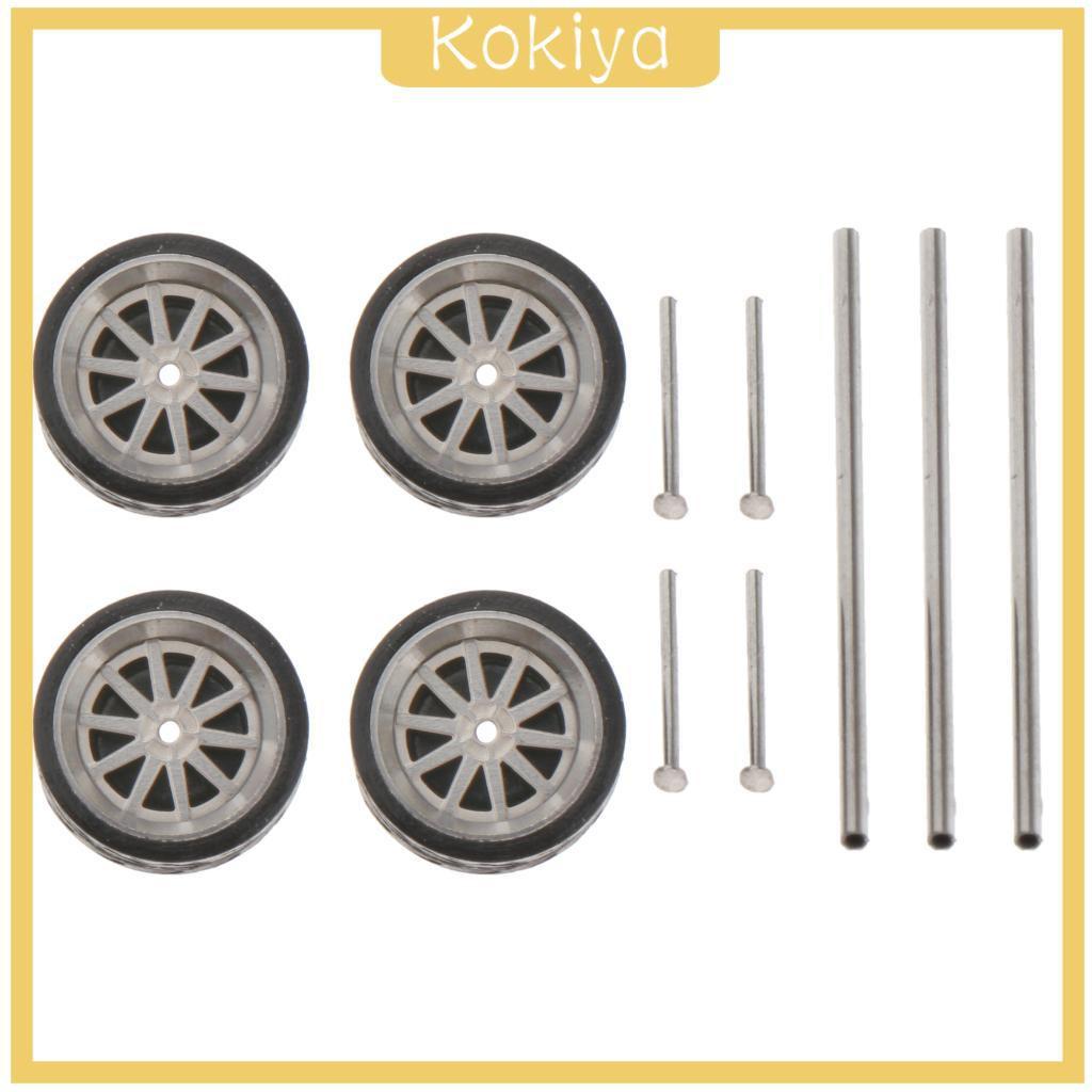 [KOKIYA] 1:64比例11毫米車輪橡膠輪胎用於火柴盒汽車車輛零件B1