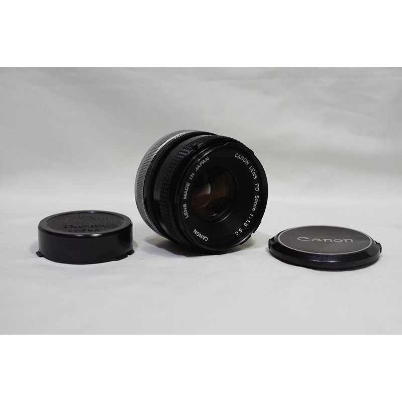 平民標準鏡皇 CANON FD 50mm F1.8 S.C.