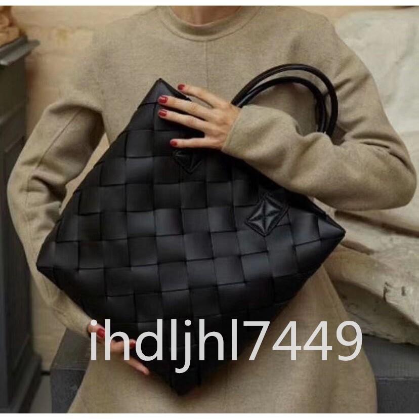全新 Bottega Veneta BV 19 cabat編織購物袋手提子母包單肩 購物袋
