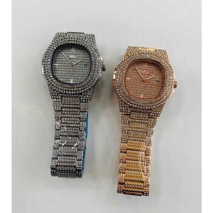 718🎉手錶85折[EPTC精品]PINTIME鑲鑽/彩虹鑽手錶